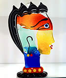 Picasso Glass Sculptures