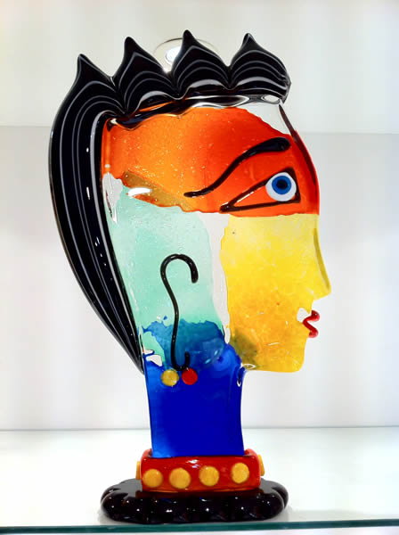 Glass Picasso Sculptures - Murano Picasso Sculptures in ...